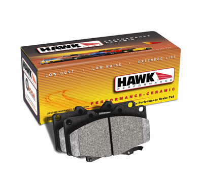 for 06-13 Chevy C6 Corvette Z06 Front /& Rear Set Hawk Ceramic Brake Pads